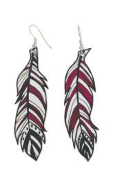 Create beautiful earrings for mum with Shrink Film!