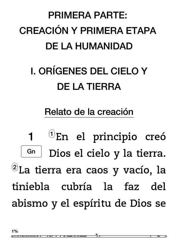 Por fin han sacado la Biblia de la Universidad de Navarra en formato digital. Me habían dicho hace tiempo por varios sitios que es la mejor, con los comentarios y explicaciones que tiene, y me comp…