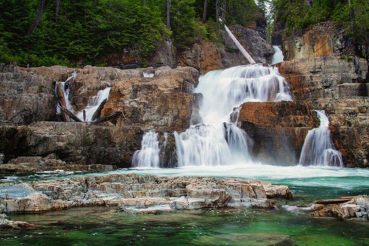 Lower Myra Falls, Strathcona Provincial Park, Vancouver Island, British Columbi by Anne McKinnella.