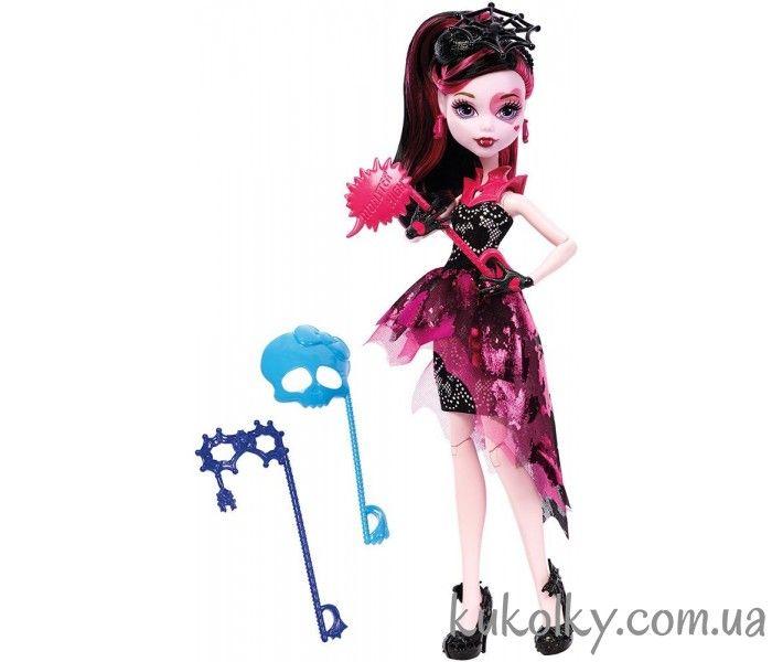 Welcome to Monster High Draculaura Dance the Fright Away кукла Дракулаура Танец без страха Добро пожаловать в Монстер Хай в Украине на сайте Куколки