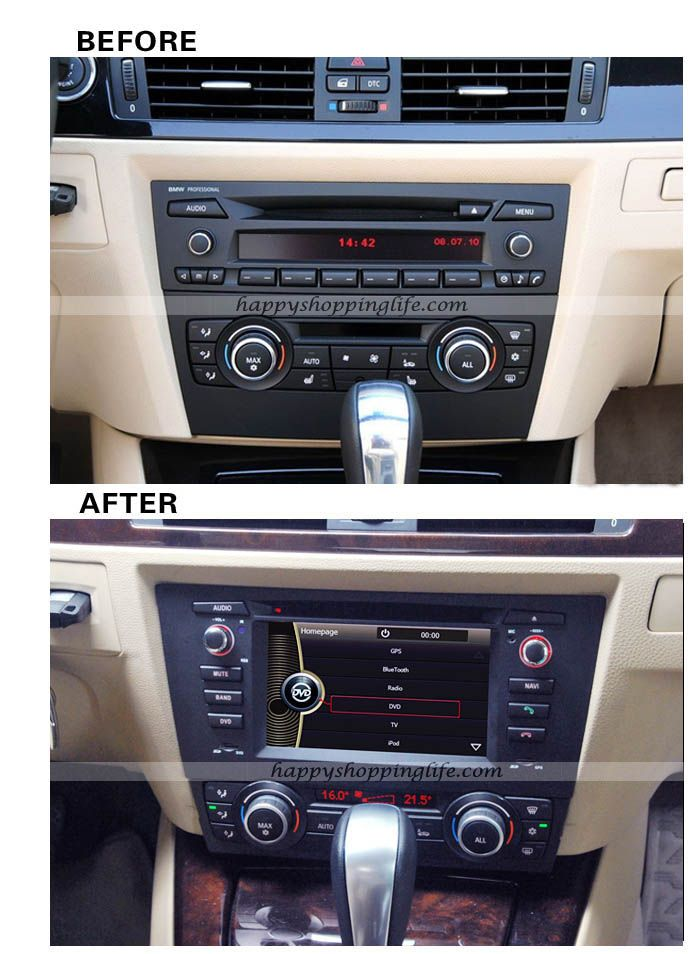 install bmw e90 e91 e92 e93 dvd player with gps. Black Bedroom Furniture Sets. Home Design Ideas