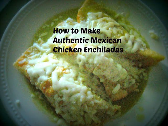 When my [Mexican] husband and I first started dating over five years ago, I was a bit nervous to try Mexican food—especially with all the jalapenos and other ingredients that I saw prepared in the food. However, one summer, our godchildren came for a visit and they taught me how to make authentic Mexican chicken enchiladas with salsa verde (green sauce).