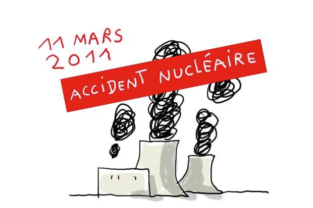 L'accident de la centrale nucléaire de Fukushima expliqué aux enfants.