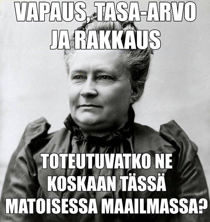 """""""Tyhmät saavat kernaasti kuolla!"""" - Minna Canthin lausahdukset moderneina nettiversioina - Viihde - Ilta-Sanomat"""