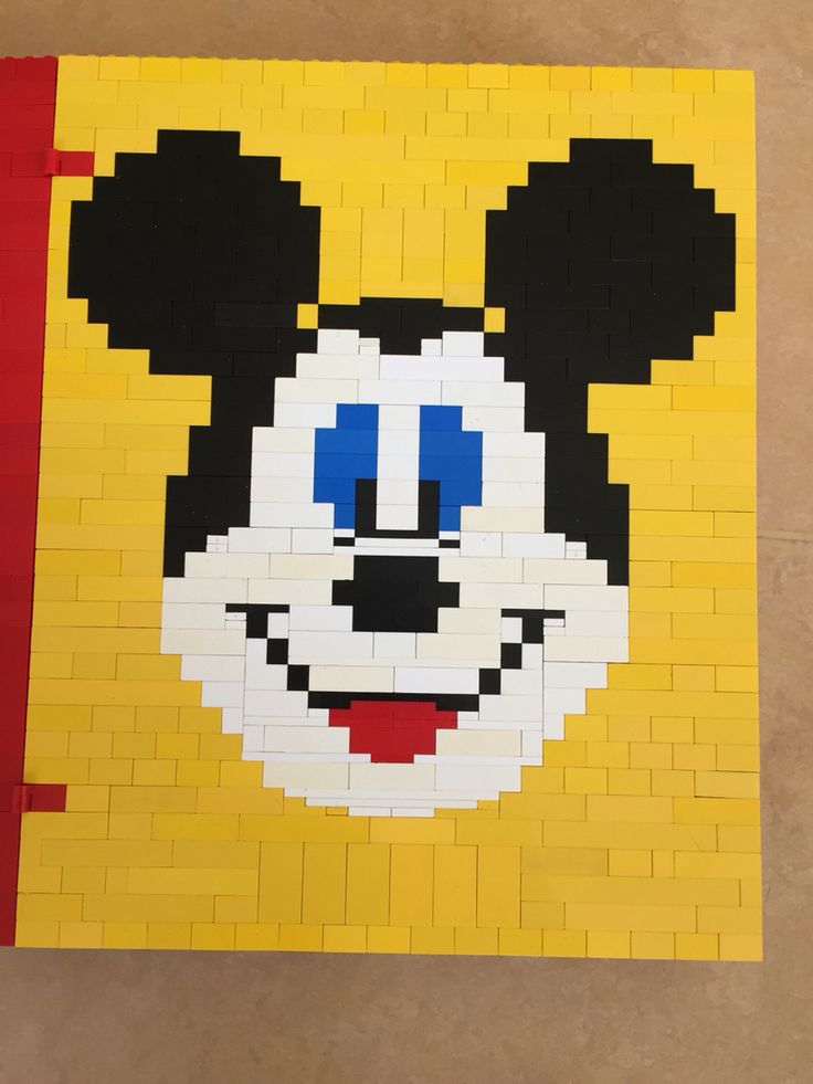 Mickey LEGO creatie Emiel