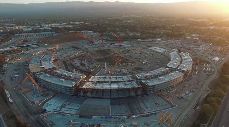 VIDEO: Apple Campus 2 Begins to Take Shape