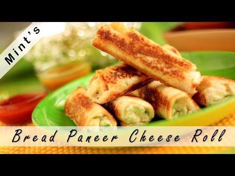 Bread Paneer Roll in Hindi (Cheese)-Indian Snacks Recipes-Breakfast recipe in Hindi-Ep-82 – Viva Recipes
