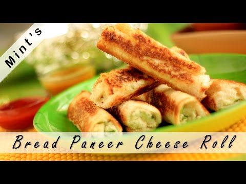 Bread Paneer Roll in Hindi (Cheese)-Indian Snacks Recipes-Breakfast recipe in Hindi-Ep-82 – Viva Recipes