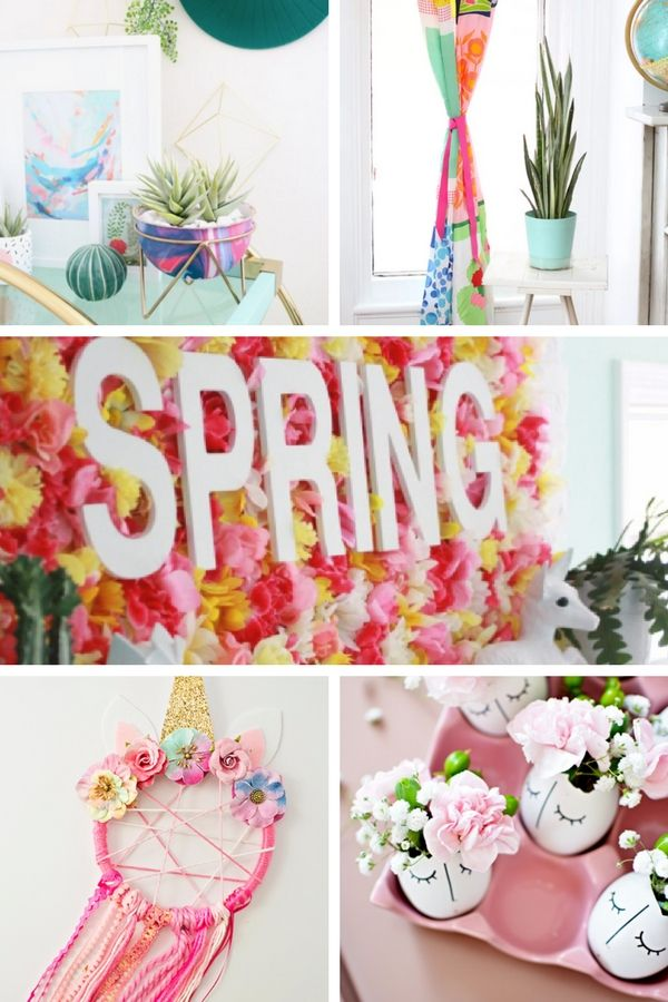 Diy Spring Decor Ideas To Brighten Up Your Home Spring Decor