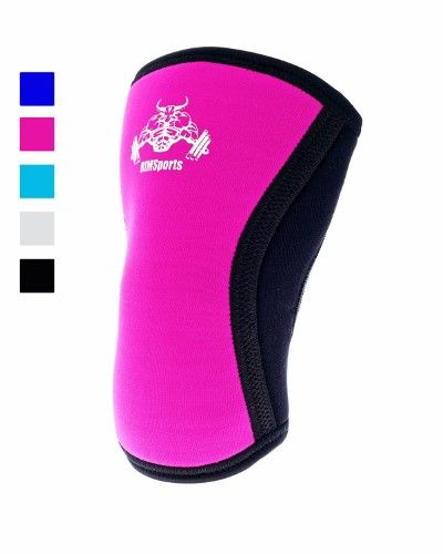 Squatting Knee Sleeves Crossfit Knee Sleeves 5mm Squatting Pad Knees Support Crossfit Best Undersleeve For Knee Workout Wrestling Knee Sleeve Premium Knee Sleeves For Men And Women Pink L