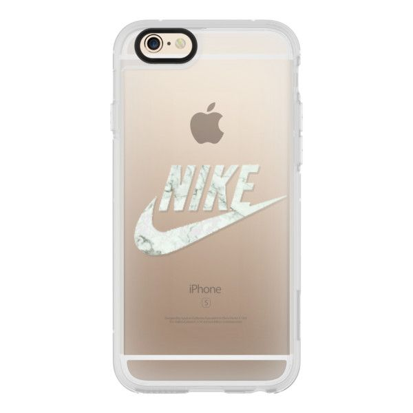 NIKE - WHITE MARBLE - iPhone 6s Case,iPhone 6 Case,iPhone 6s Plus... (£31) ❤ liked on Polyvore featuring accessories, tech accessories, cases, phone, iphone case, phone cases, iphone cases, clear iphone cases, apple iphone cases and iphone hard case