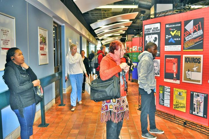 """Signs of Solidarity: The Dutch Against Apartheid' Exhibition opened on the 4th of August 2015."