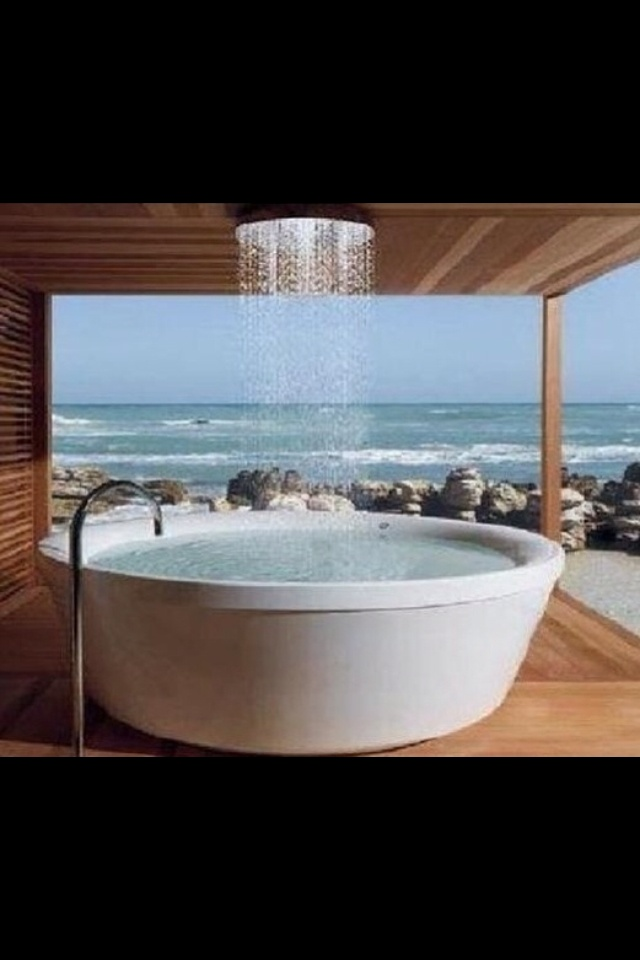 Indoor hot tub awesome products pinterest hot tubs for Indoor bathroom hot tubs