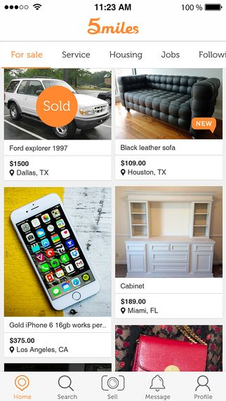 Yard Sale Finder Apps, for Bargains! #5milesapp