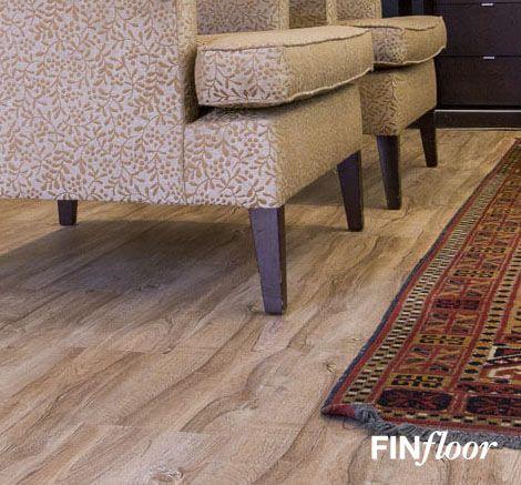 Finfloor - Inovar Laminate Flooring colour Autumn Oak
