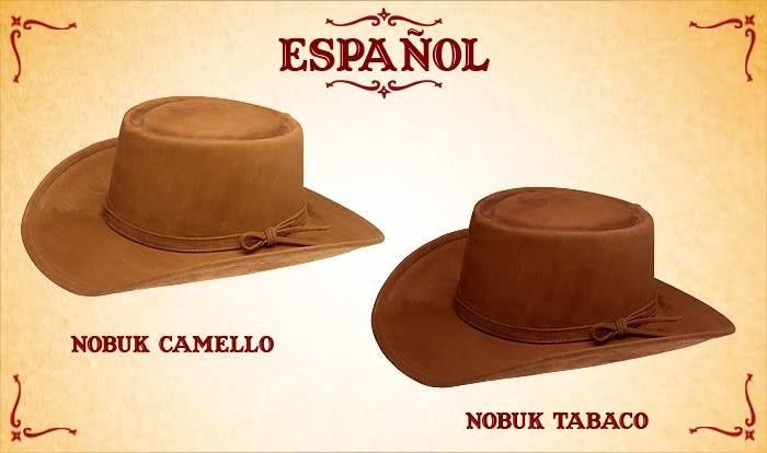 #Sombreros modelo español, camello y tabaco