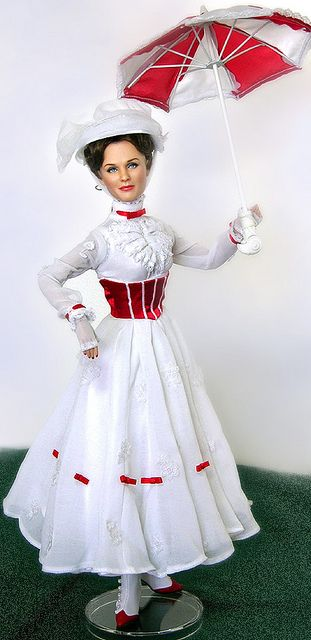 Julie Andrews as Mary Poppins | Flickr - Photo Sharing!