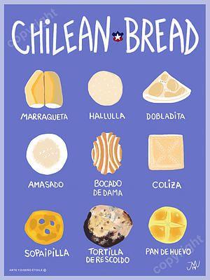 Chilean Bread - Desde Chile con amor