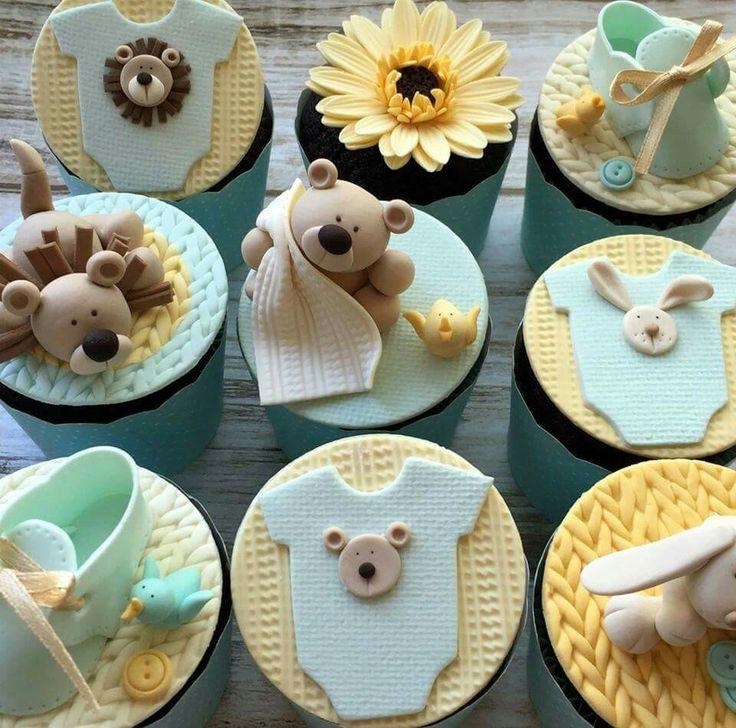 Cute baby cupcake ideas