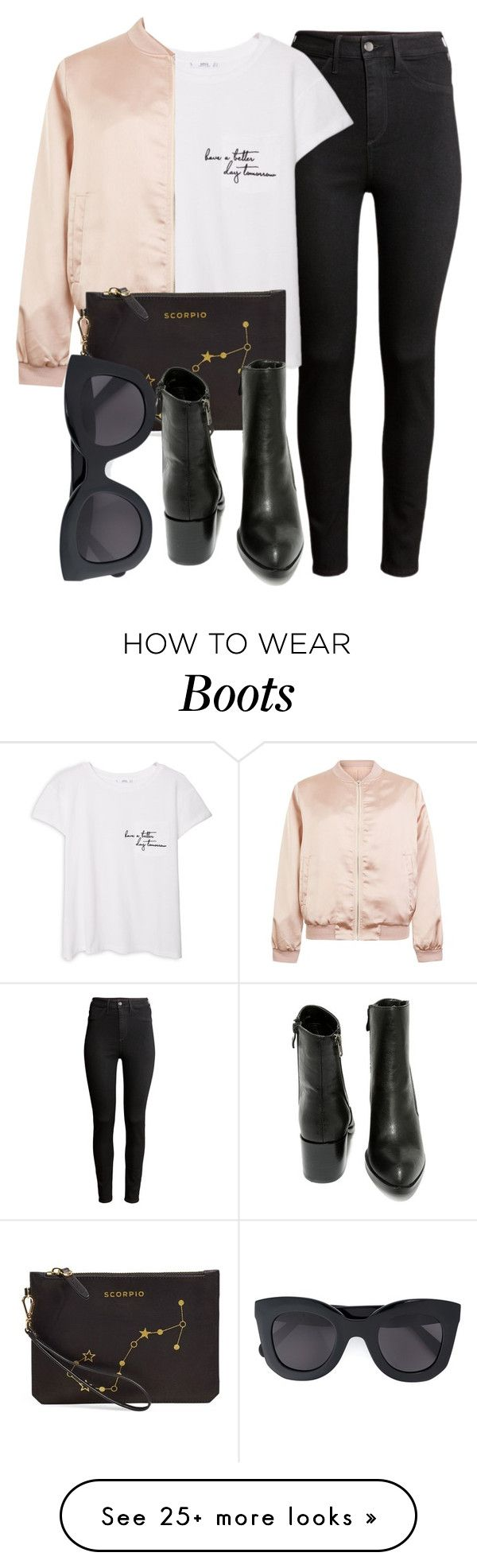 """""""Untitled #4928"""" by laurenmboot on Polyvore featuring Mode, H&M, MANGO, Cameo Rose, Etienne Aigner, Very Volatile und CÉLINE"""