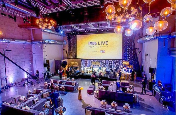 We love how great this IMDB Viewing Party turned out! || Creative Team: Planning and Design @simplytroy | @thegrandbevy @imdb | Photographer: @philipvn | Venue: @neuehouse | Floral & Backdrop: @shawnayamamoto | Rentals: @204events