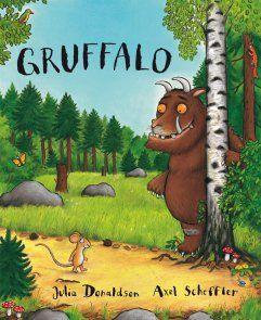 """""""Gruffalo""""  I Ty wejdź głębiej w ten ciemny las, a zobaczysz, co się stało, kiedy błyskotliwa Mysz spotkała Sowę, Węża i pewnego głodnego Gruffalo..."""