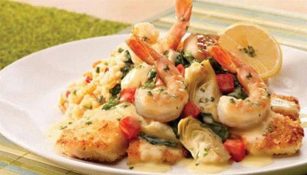 Aprende a preparar cangrejos con salsa americana y arroz pilaf con esta rica y fácil receta. Freímos los cangrejos con la mantequilla y 4 cucharadas de aceite....