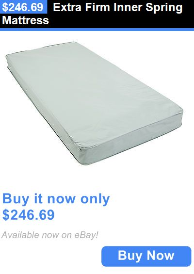 Bed and Chair Tables: Extra Firm Inner Spring Mattress BUY IT NOW ONLY: $246.69