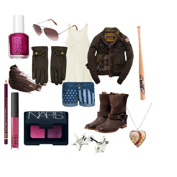 2p hetalia clothing style | fashion look from June 2012 featuring Kain tops, Superdry jackets ...