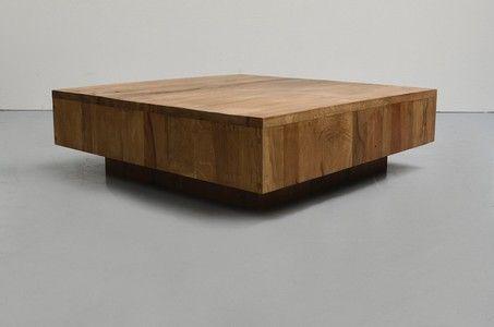 CO106 Massivholz Couchtisch Gap Couchtische Pinterest - couchtisch aus massivholz 25 designs