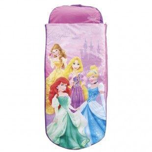 Matelas gonflable filles de 3 à 6 ans, 1 place - Readybed Princesse Disney 150 x 62 x 20 cm