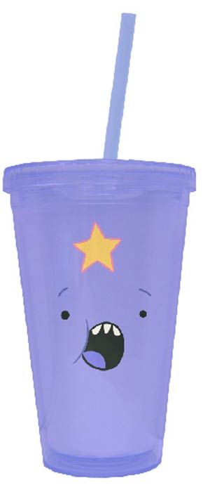 Adventure Time Acrylic Cup - Lumpy Space Princess. UMMM I NEED THIS LIKE NOW! OHMYGLOB!