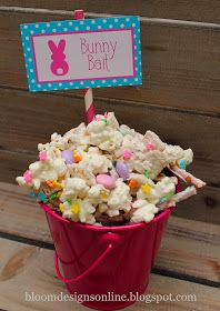 53 best easter popcorn images on pinterest easter recipes use white chocolate popcorn from lisas passion for popcorn to make this fun treat bunny bait easter chex mix 2 cups pretzel stick 2 cups rice chex and negle Gallery