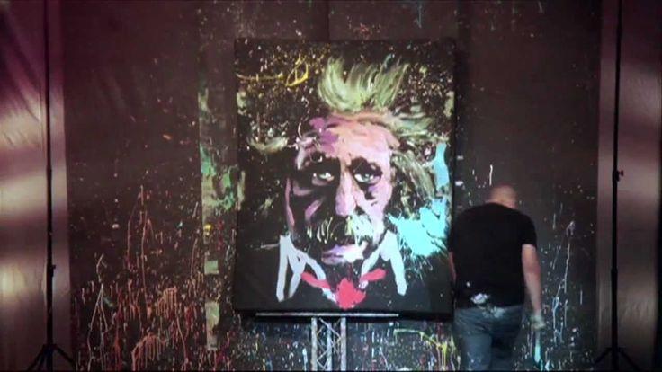 UPSIDE DOWN - Speed Painter entertainer amazing!!