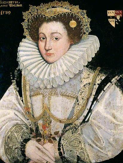 Lady Elizabeth Walshe, Flemish School, 1589, York Museums Trust