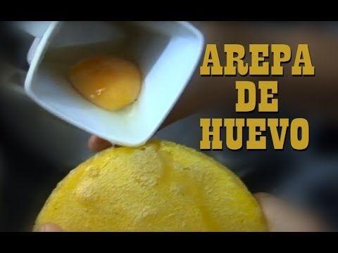 ▶ Arepa de huevo tradicional colombiana - YouTube