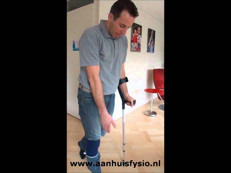 Lopen met 1 kruk, fysiotherapie Meppel, fysiotherapie praktijk