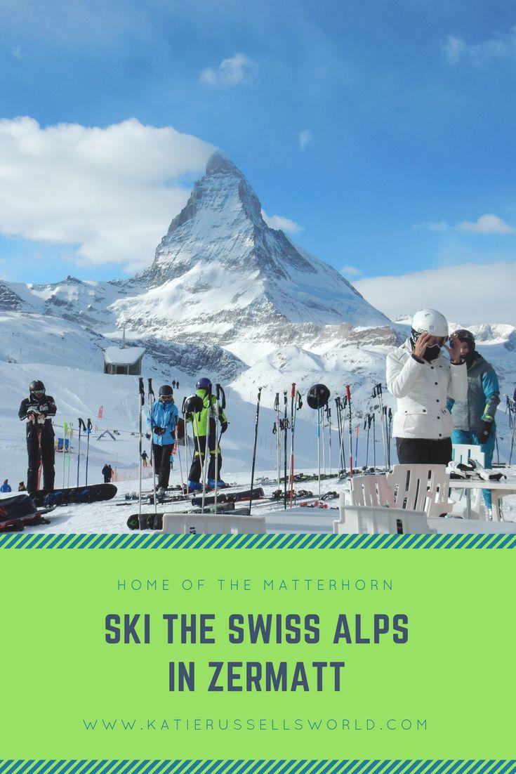 Ski the Swiss Alps in Zermatt, Switzerland! - The Home of The Matterhorn