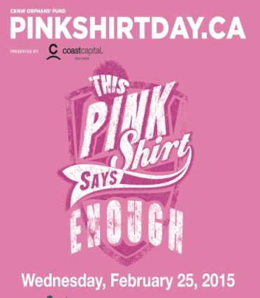 25 best Pink Shirt Day 2015 images on Pinterest | Pink shirts ...