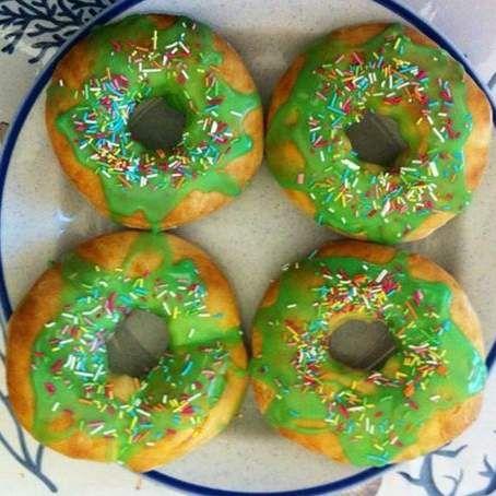 Ricetta Doughnut al forno (donuts al forno) pubblicata da ChicaB - Questa ricetta è nella categoria Prodotti da forno dolci