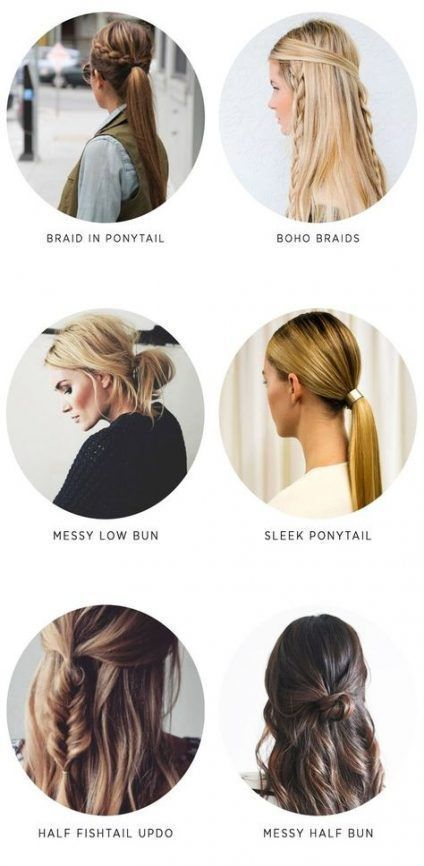 Hairstyles for the School Fast Hairstyle 37+ Super Ideas #Hair #Hairstyles #Easy Hairstyles, ...