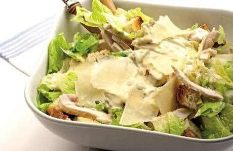 Insalata caesar di pollo - chicken caesar salad