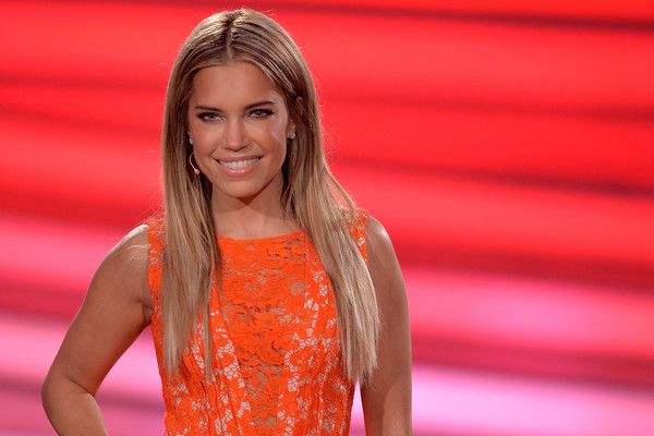 Sylvie Meis Photos - Presenter Sylvie Meis looks on during the 7th show of the television competition 'Let's Dance' at Coloneum on April 29, 2016 in Cologne, Germany. - 'Let's Dance' Films Its 7th Show