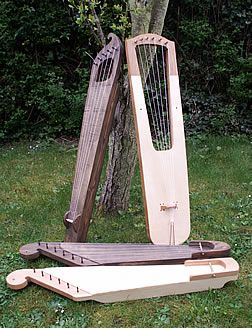 Viking Musical Instruments/Kanteles are lovely to play, even for someone completely untrained