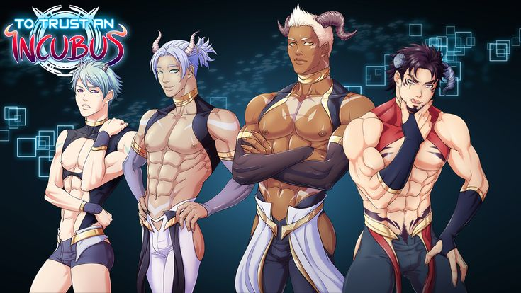 To Trust an Incubus Bara Yaoi BL Dating Sim Visual Novel by Y Press Games