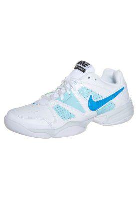 CITY COURT VII - Scarpe da tennis indoor - white/vivid blue/glacier ice