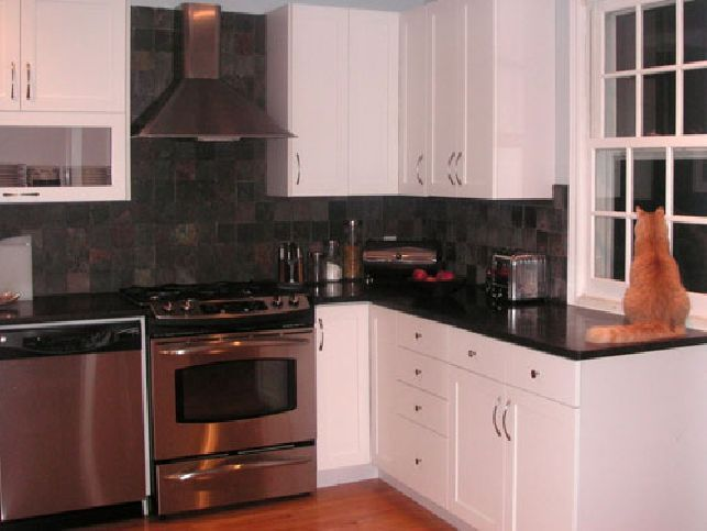 141 best images about kitchens with black appliances on - Kitchen designs with black appliances ...