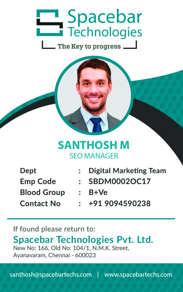 Id Card Design With Images Identity Card Design Id Card
