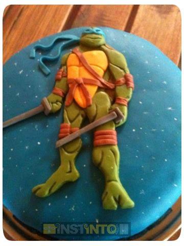 Torta de cumpleaños Tortugas Ninjas