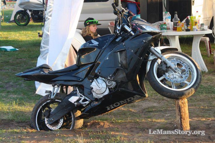 Motorcycle Camping GP Moto France - Le Mans 2015
